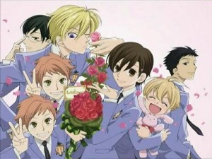 Ouran High School scroll